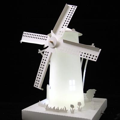 纸盒子手工制作风车